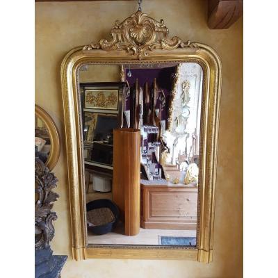 Miroir Louis-philippe Époque Napoléon III 159x96cm