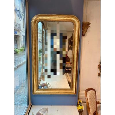 Miroir En Bois Doré Louis-philippe