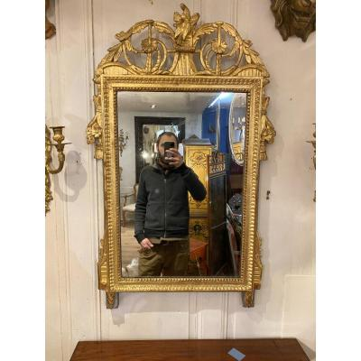 Louis XVI Golden Mirror