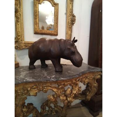 Leather Hippopotamus
