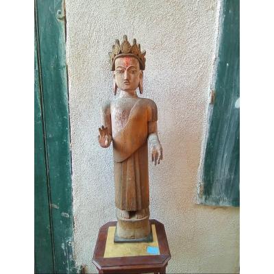Statue Divinité Indienne