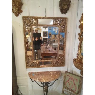 Miroir à Parclose De Style Louis XIV