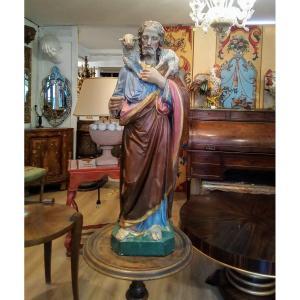 Good Shepherd Terracotta Statue