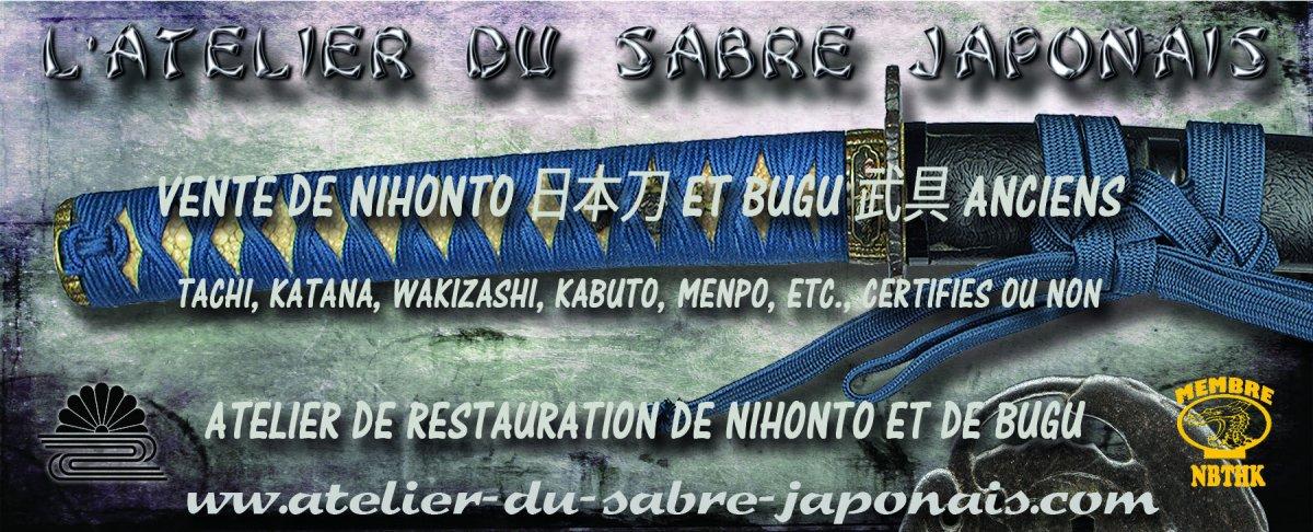 L 'atelier du sabre japonais