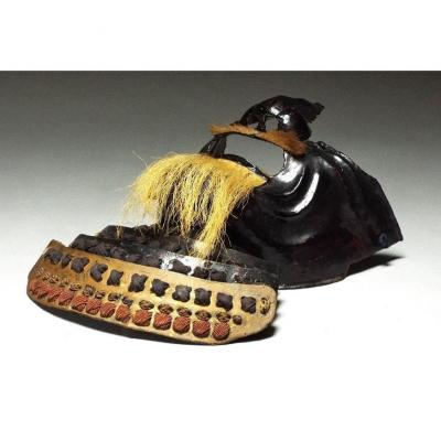 Antique Menpo From The Beginning Of The Edo Era (17th Century)
