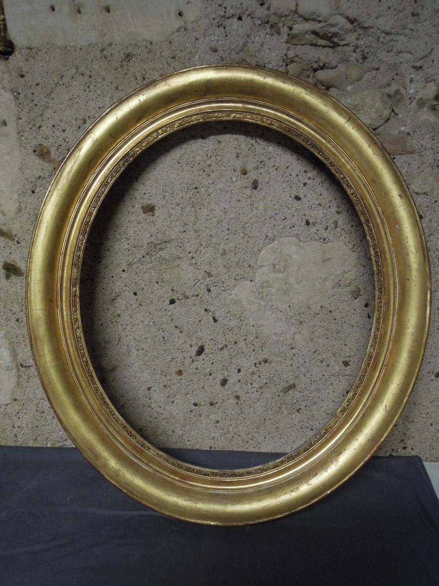 Cadre ovale XIXème