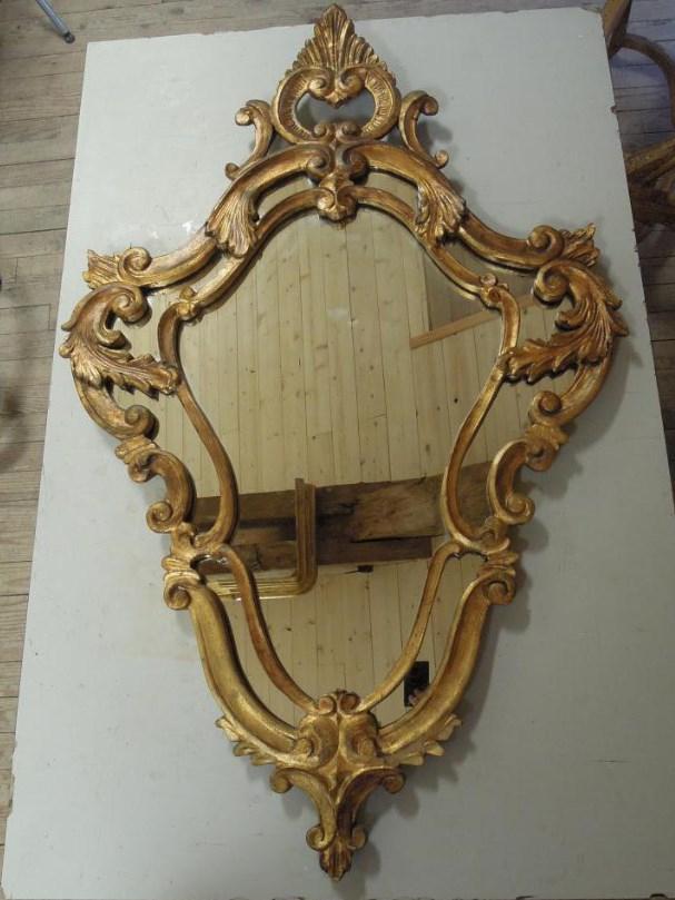 grand miroir violon miroirs. Black Bedroom Furniture Sets. Home Design Ideas