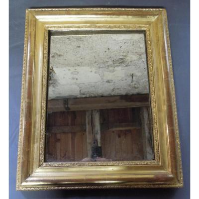 XIX Mirror In Golden Wood