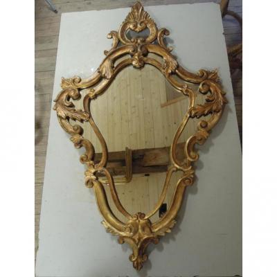 Grand miroir violoné