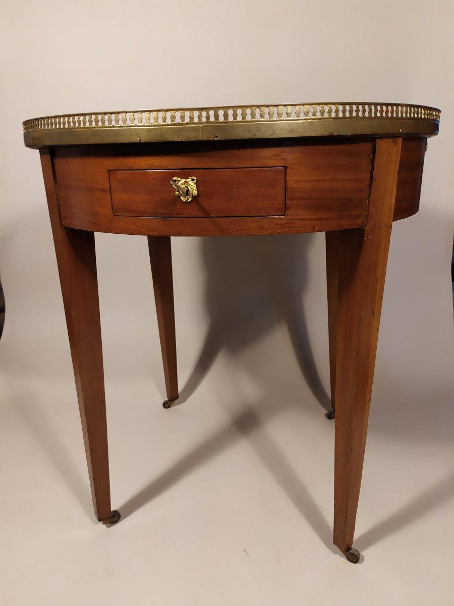 Table Bouillotte En Acajou XVIII ème
