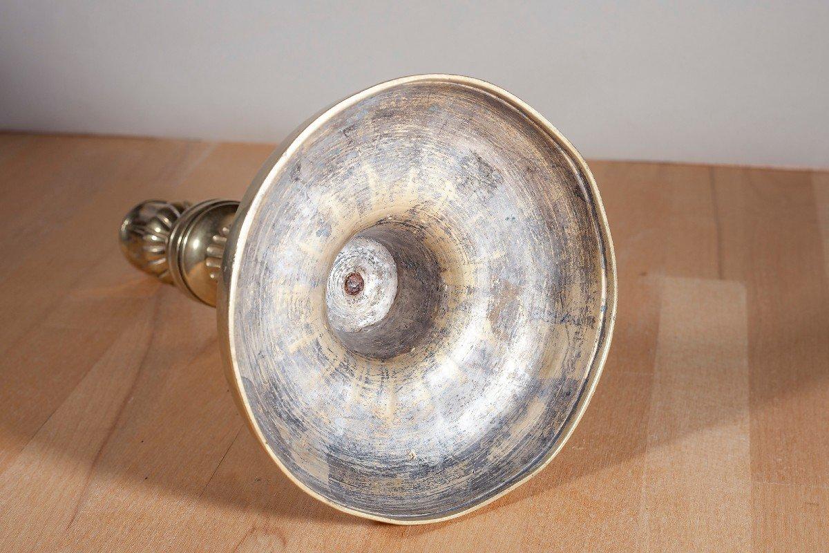 Paire De Flambeaux En Bronze XIX ème-photo-4