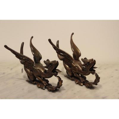 Chimères En Bronze