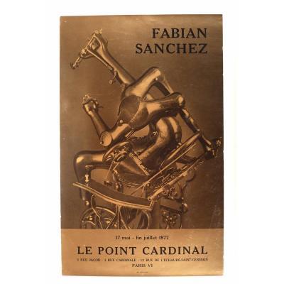 Sanchez Fabian Affiche Du Point Cardinal 1977