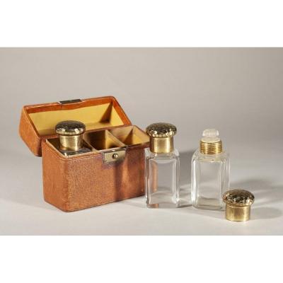 Coffret à Parfum En Cuir