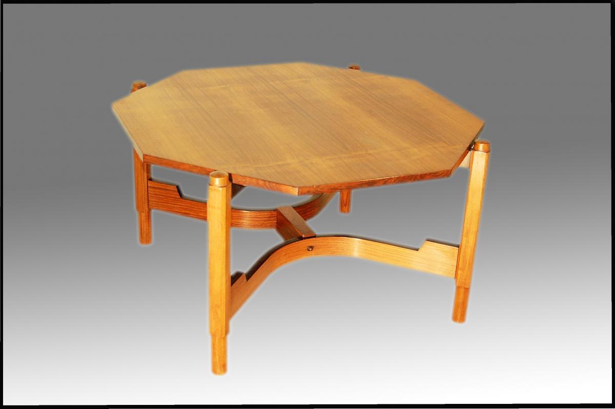 table basse en teck design italien tables basses. Black Bedroom Furniture Sets. Home Design Ideas