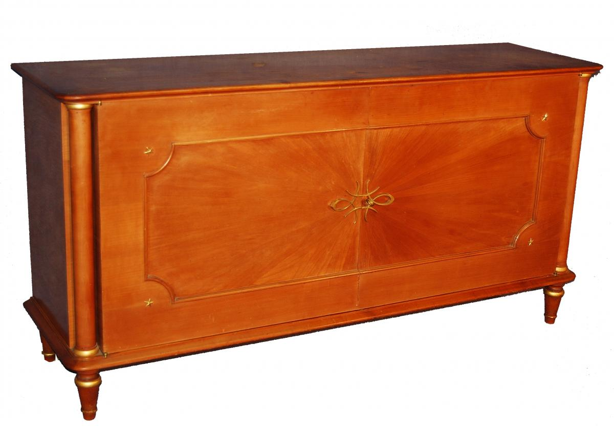 Buffet Two Doors 1940 In Sycamore And Maple