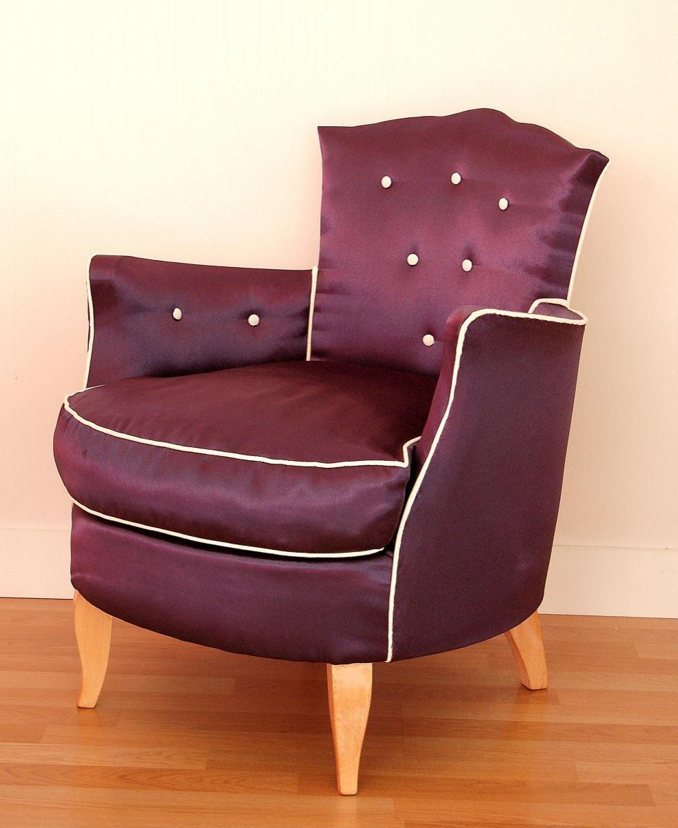 Art Deco Period Armchair