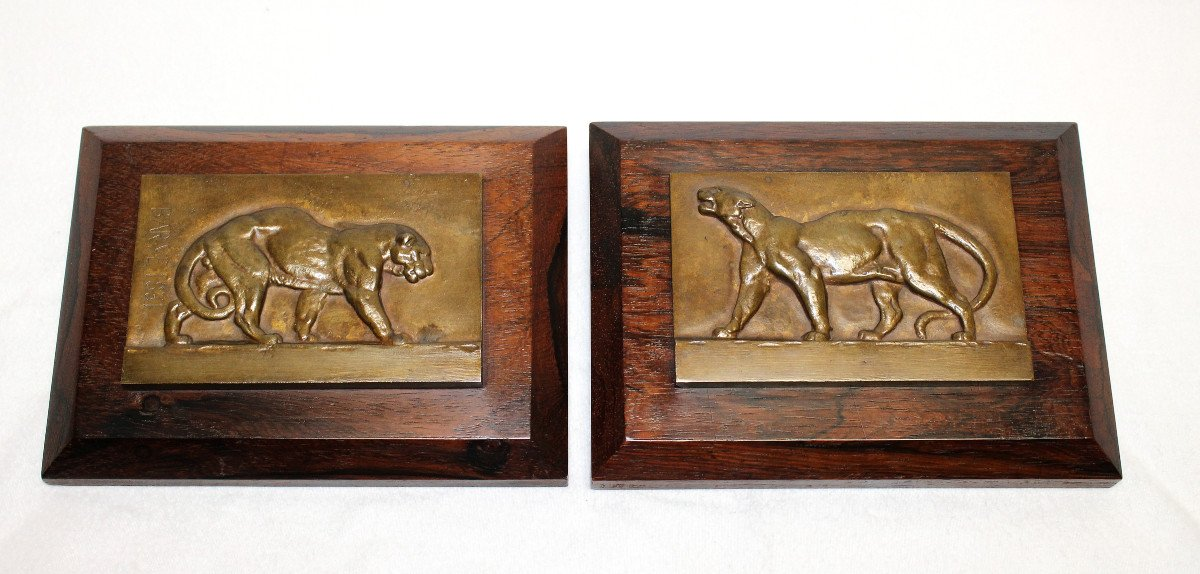 Tigres Bronze  Antoine-Louis Barye-photo-4