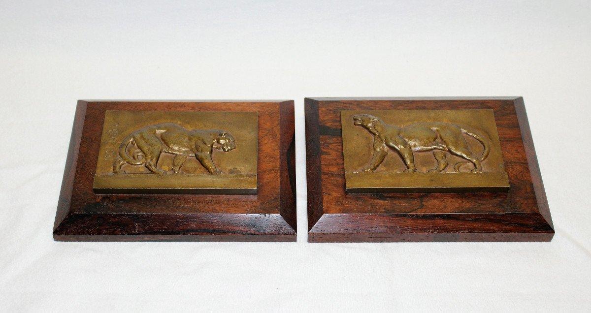 Tigres Bronze  Antoine-Louis Barye-photo-1