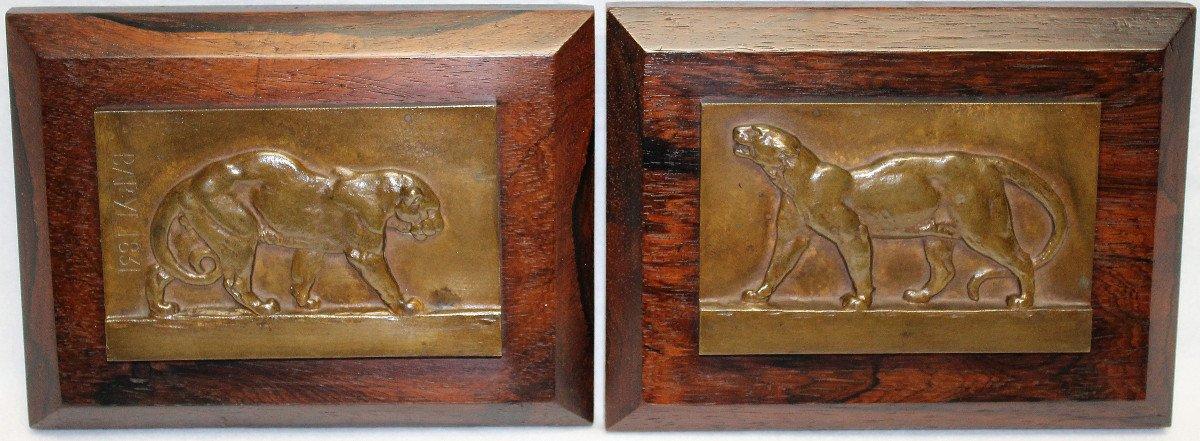 Tigres Bronze  Antoine-Louis Barye