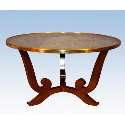 Jules Leleu (1883-1961) Table Basse vers 1950