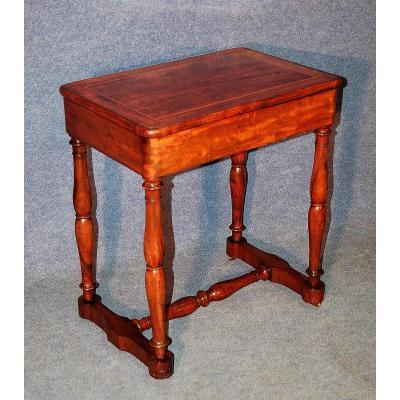 Petite Table à Pieds Jacob En Acajou