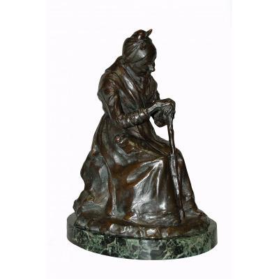 Bronze Sculpture  XIXe Siècle Signée M Gobert