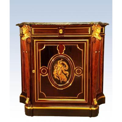 Gueret Frères Important Meuble d'Appui De Style Louis XIV