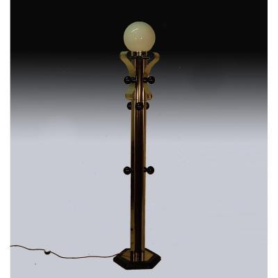 70's Coat Rack Floor Lamp