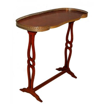 Table Rognon En Acajou