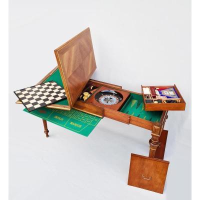Table à Jeux XIXème Estampillée