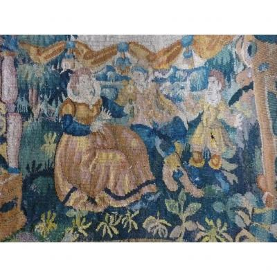 17th Century Tapestry Element Louis XIII
