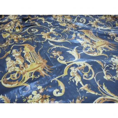 Pair Of Castle Curtains 4 Meters Long Twentieth