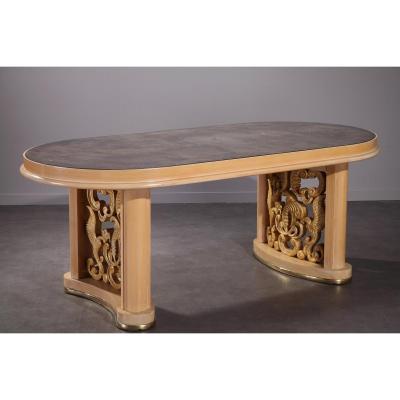 Table salle manger sur proantic 20 me si cle for Salle a manger 1900