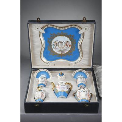 Tea Service With Sevres And Château Des Tuileries Marks