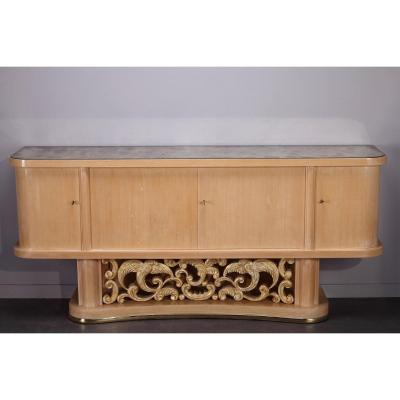 1950's Sycamore Sideboard