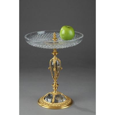 Coupe En Cristal Et Bronze Dans Le Goût De La Renaissance