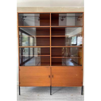 A.r.p Display Cabinet By Minvielle In Teak