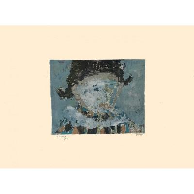 «Arlequin» 1950 - Jean Pougny (1892 – 1956)