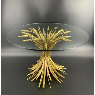Table basse modèle Épi de Blé Coco Chanel 1970