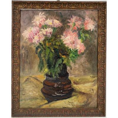 Nature morte au bouquet de fleur - CIRCA 1900