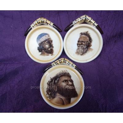 3 coupelles aborigènes d'Australie