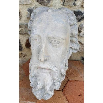 Head In Plaster Of Bearded Philosopher