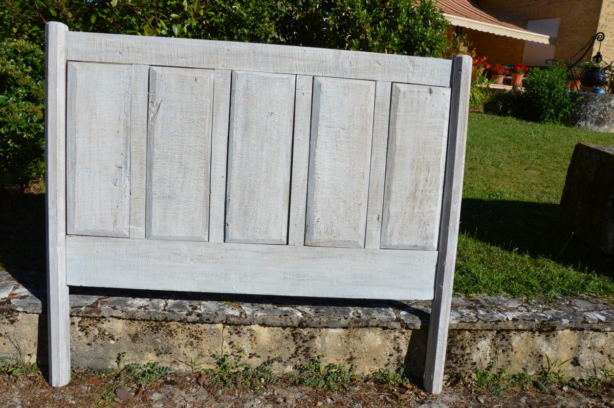 Tete De Bed, Panel, Paneling Old-photo-2
