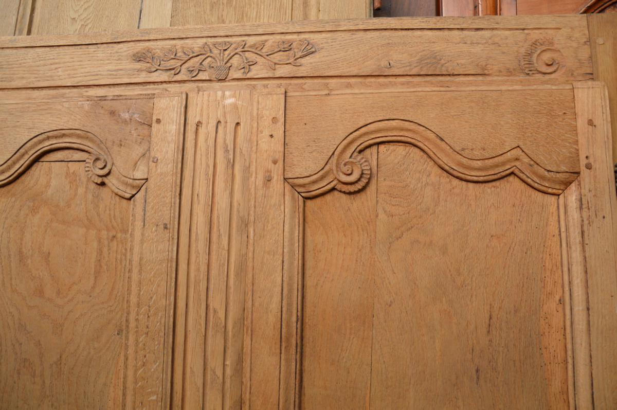 Tete De Bed, Panel, Paneling Old-photo-4