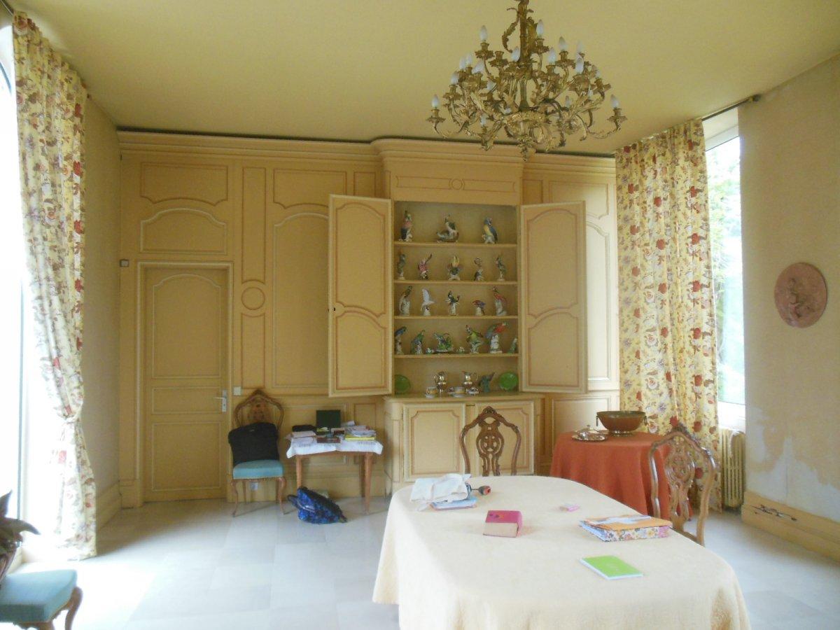 Coherente Suite Of 6 Doors In Resineux Door XVIII Eme And XIX Eme With Assorted Woodwork-photo-1