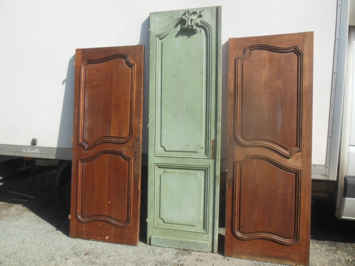 Coherente Suite Of 3 Doors, Oak Door