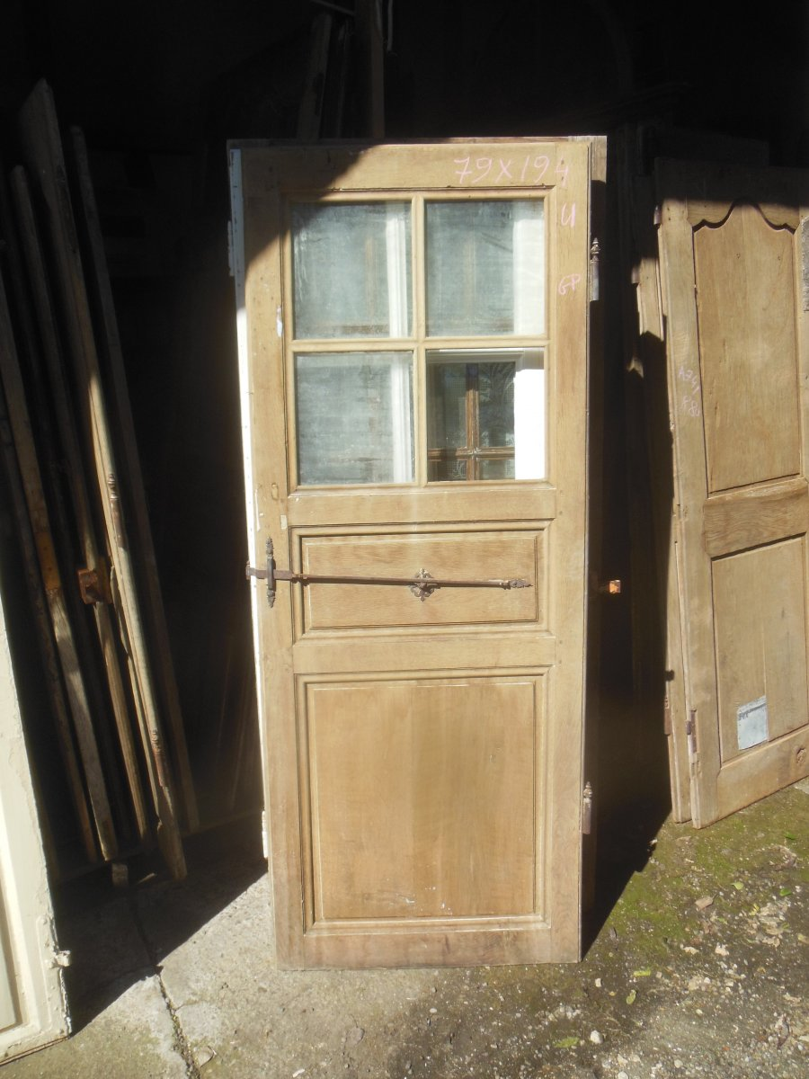 Nice Trio Of Small Glass Doors, Woodwork Door Of The Same House