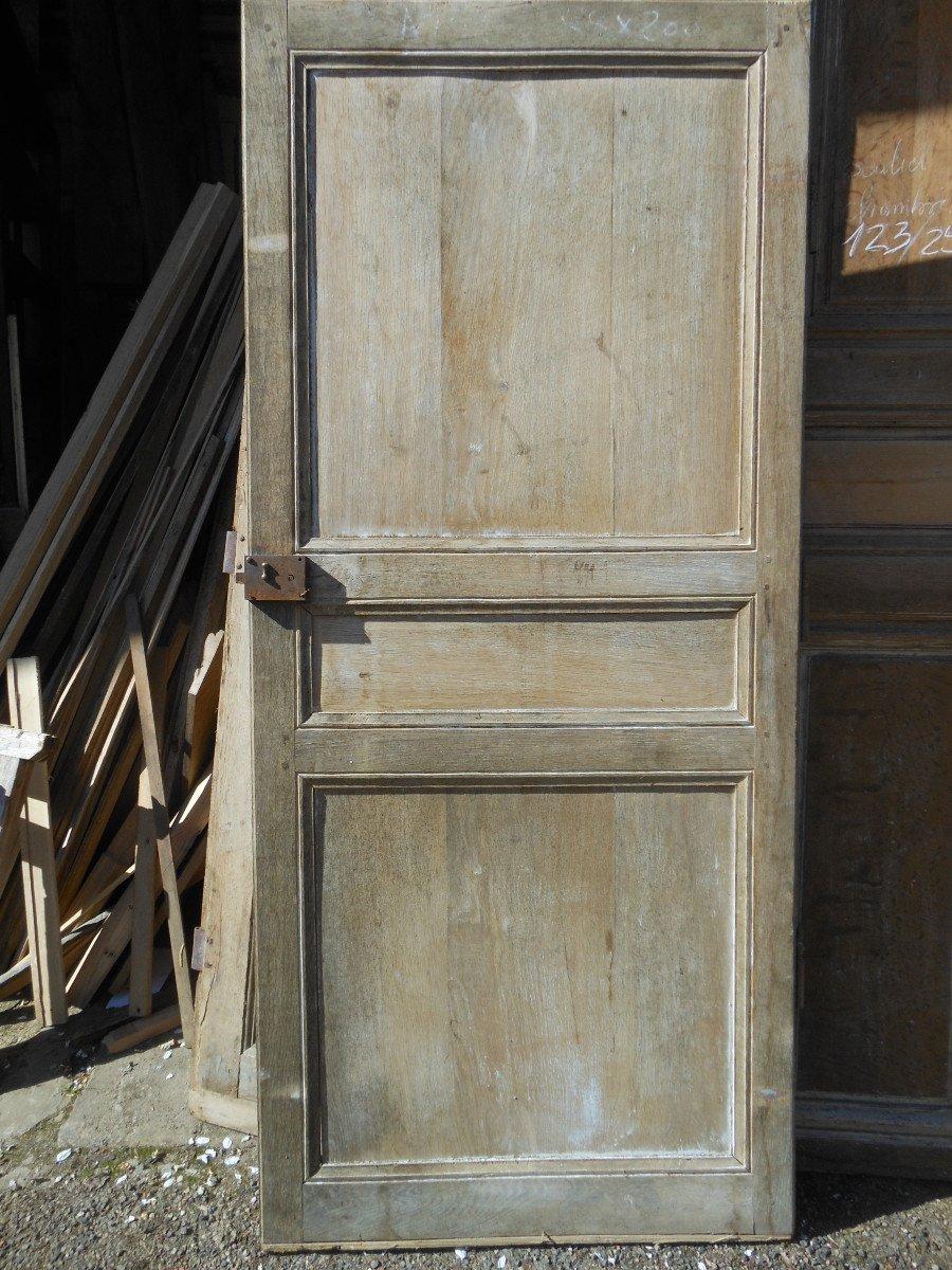 Simple Porte En Chêne Directoire-photo-2