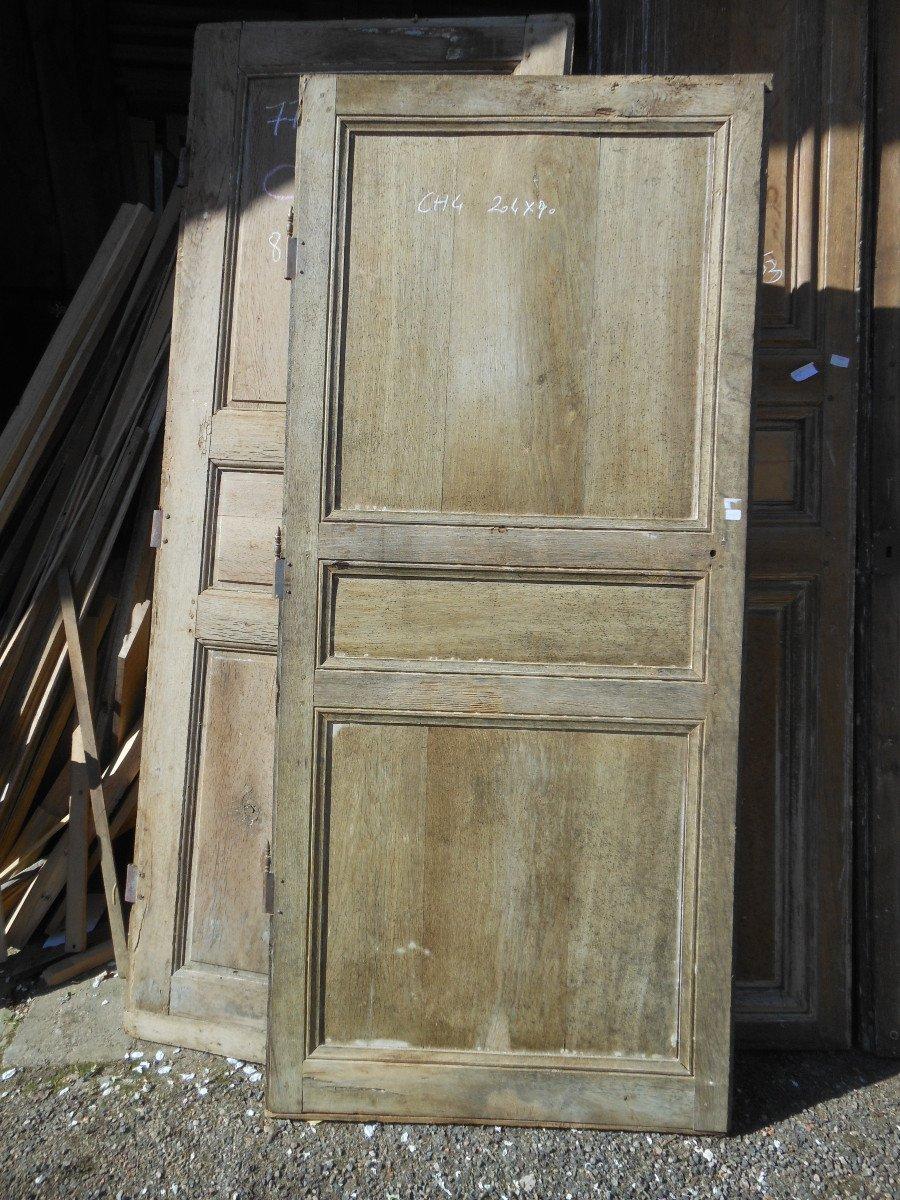 Simple Porte En Chêne Directoire